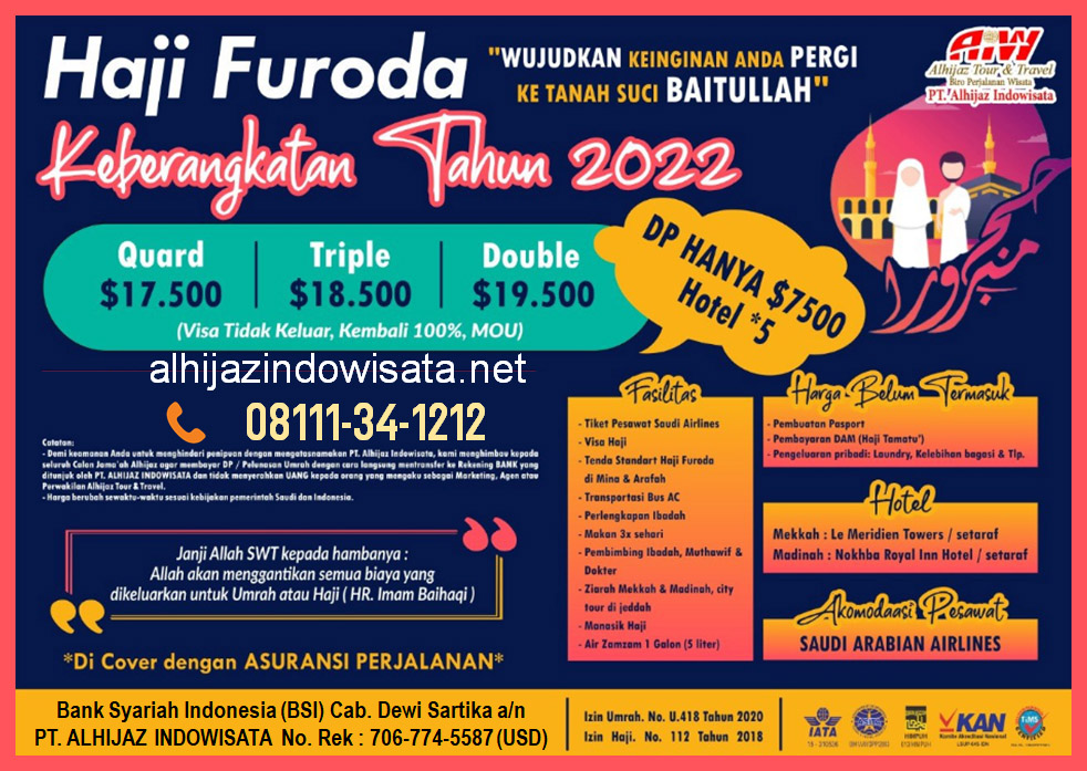 haji furoda 2022